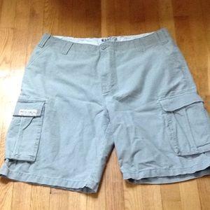 Nautica cargo shorts size 38